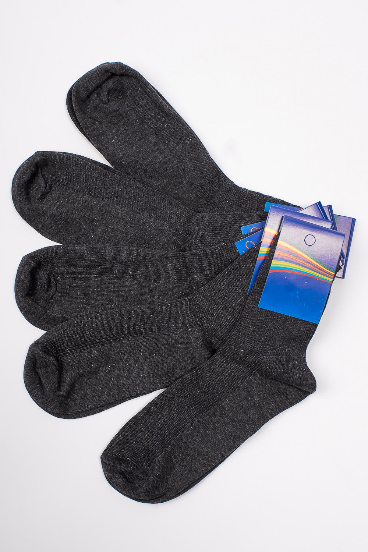 НоскиЧулочно-носочные изделия<br>Трикотажные носочки для ребенка. Упаковка из 5 пар.  В изделии использованы цвета: серый  Цена на сайте указана за 1 упаковку.<br><br>По материалу: Трикотажные<br>По образу: Жизнь<br>По рисунку: Однотонные<br>По сезону: Весна,Зима,Лето,Осень,Всесезон<br>По стилю: Повседневные<br>По элементам: На резинке<br>Размер : 22<br>Материал: Трикотаж<br>Количество в наличии: 2