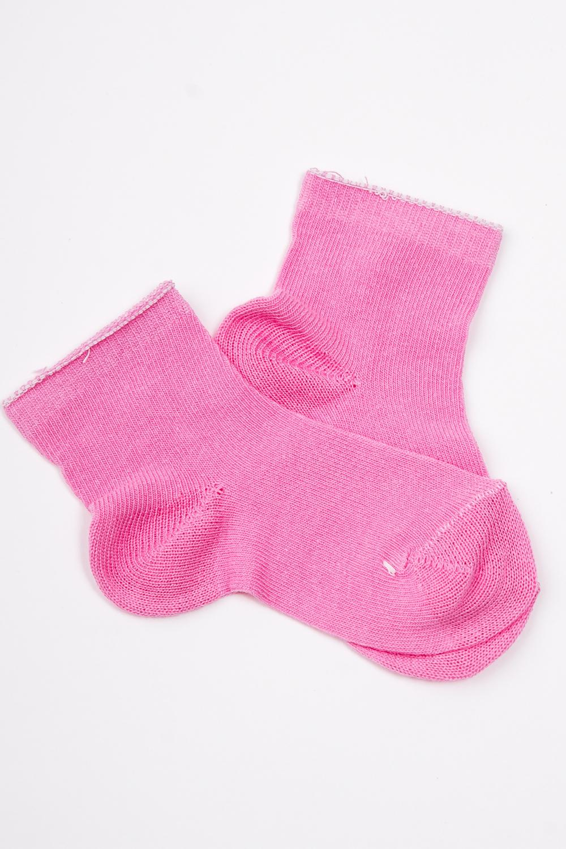 НоскиЧулочно-носочные изделия<br>Однотонные трикотажные носочки  Цвет: розовый<br><br>По длине: Миди<br>По материалу: Трикотажные,Хлопковые<br>По образу: Жизнь<br>По рисунку: Однотонные<br>По сезону: Весна,Зима,Лето,Осень,Всесезон<br>По стилю: Летние,Повседневные<br>Размер : 12,16<br>Материал: Трикотаж<br>Количество в наличии: 3