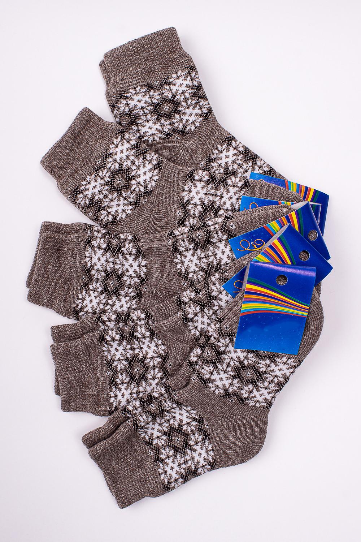 НоскиЧулочно-носочные изделия<br>Махровые носочки для ребенка. Упаковка из 5 пар.  В изделии использованы цвета: светло-коричневый и др.  Цена на сайте указана за 1 упаковку.<br><br>По материалу: Махровые<br>По образу: Жизнь<br>По рисунку: С принтом (печатью),Цветные<br>По сезону: Зима,Осень,Весна<br>По стилю: Повседневные,Теплые<br>По элементам: На резинке<br>Размер : 18<br>Материал: Махровое полотно<br>Количество в наличии: 1