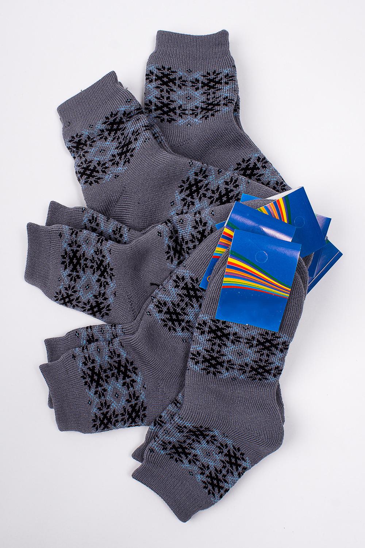 НоскиЧулочно-носочные изделия<br>Махровые носочки для ребенка. Упаковка из 5 пар.  В изделии использованы цвета: серый и др.  Цена на сайте указана за 1 упаковку.<br><br>По материалу: Махровые<br>По образу: Жизнь<br>По рисунку: С принтом (печатью),Цветные<br>По сезону: Зима,Осень,Весна<br>По стилю: Повседневные,Теплые<br>По элементам: На резинке<br>Размер : 20<br>Материал: Махровое полотно<br>Количество в наличии: 1