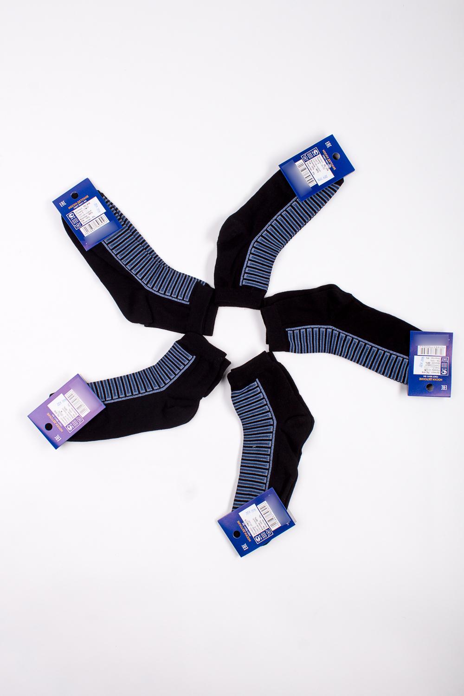 НоскиЧулочно-носочные изделия<br>Трикотажные носочки для ребенка. Упаковка из 5 пар.  В изделии использованы цвета: черный, голубой  Цена на сайте указана за 1 упаковку.<br><br>По материалу: Трикотажные,Хлопковые<br>По образу: Жизнь<br>По рисунку: С принтом (печатью),Цветные<br>По сезону: Весна,Зима,Лето,Осень,Всесезон<br>По стилю: Повседневные<br>По элементам: На резинке<br>Размер : 20-22<br>Материал: Трикотаж<br>Количество в наличии: 1