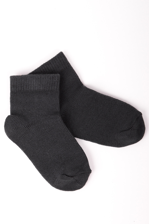 НоскиЧулочно-носочные изделия<br>Однотонные хлопковые носочки  Цвет: черный<br><br>По образу: Жизнь,Спорт<br>По стилю: Повседневные<br>По материалу: Трикотажные,Хлопковые<br>По рисунку: Однотонные,С принтом (печатью)<br>По сезону: Весна,Осень<br>По элементам: На резинке<br>По длине: Миди<br>Размер: 12,14,16<br>Материал: 90% хлопок 8% полиэстер 2% Эластан<br>Количество в наличии: 28