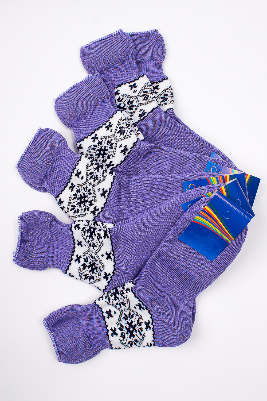 НоскиЧулочно-носочные изделия<br>Махровые носочки для ребенка.Упаковка из 5 пар.В изделии использованы цвета: сиреневый и др.Цена на сайте указана за 1 упаковку.<br><br>Материал: Махровые<br>Образ: Жизнь<br>Рисунок: С принтом (печатью),Цветные<br>Сезон: Весна,Зима,Осень<br>Стиль: Повседневные,Теплые<br>Элементы: На резинке<br>Размер : 22<br>Материал: Махровое полотно<br>Количество в наличии: 1