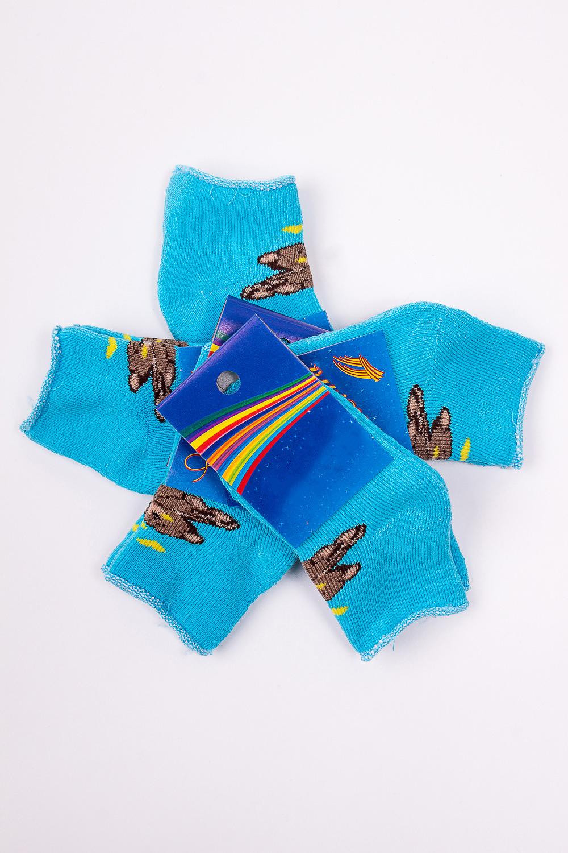 НоскиЧулочно-носочные изделия<br>Махровые носочки для ребенка. Упаковка из 5 пар.  В изделии использованы цвета: голубой и др.  Цена на сайте указана за 1 упаковку.<br><br>По материалу: Махровые<br>По образу: Жизнь<br>По рисунку: С принтом (печатью),Цветные<br>По сезону: Зима,Осень,Весна<br>По стилю: Повседневные,Теплые<br>По элементам: На резинке<br>Размер : 8-10<br>Материал: Махровое полотно<br>Количество в наличии: 1