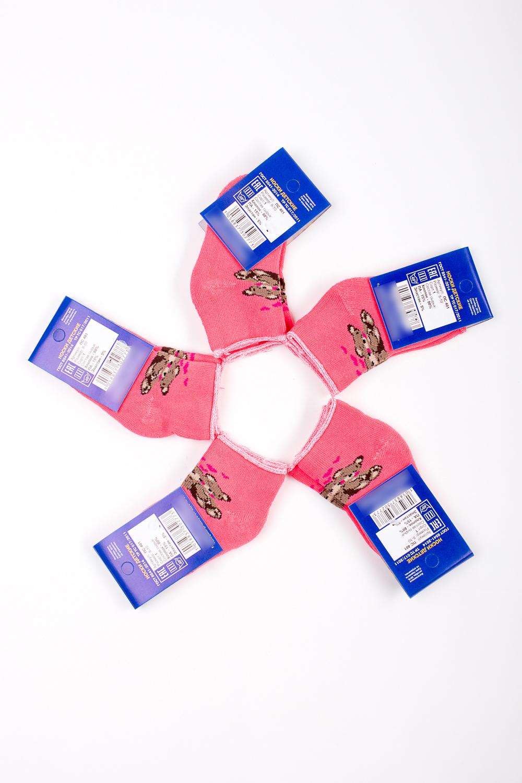 НоскиЧулочно-носочные изделия<br>Махровые носочки для ребенка. Упаковка из 5 пар.  В изделии использованы цвета: коралловый и др.  Цена на сайте указана за 1 упаковку.<br><br>По материалу: Махровые,Трикотажные<br>По образу: Жизнь<br>По рисунку: С принтом (печатью),Цветные<br>По стилю: Повседневные<br>По элементам: На резинке<br>По сезону: Зима<br>Размер : 8-10<br>Материал: Махровое полотно<br>Количество в наличии: 1
