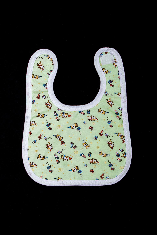 НагрудникСлюнявчики<br>Хлопковый нагрудник для ребенка  В изделии использованы цвета: зеленый и др.  Размер 56 соответствует росту ребенка 56-62 см. Размер 68 соответствует росту ребенка 68-74 см.<br><br>Размер : 56,68<br>Материал: Хлопок<br>Количество в наличии: 2