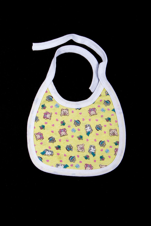 НагрудникСлюнявчики<br>Хлопковый нагрудник для ребенка  В изделии использованы цвета: желтый и др.  Размер 56 соответствует росту ребенка 56-62 см. Размер 68 соответствует росту ребенка 68-74 см.<br><br>Размер : 56,68<br>Материал: Хлопок<br>Количество в наличии: 2