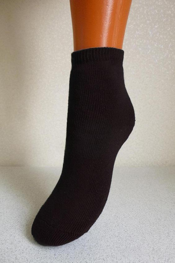 НоскиНоски<br>Махровые мужские носки  Цвет: черный<br><br>По сезону: Зима<br>Размер: 25,27,29<br>Материал: 90% хлопок 8% полиэстер 2% Эластан<br>Количество в наличии: 16