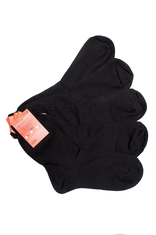 НоскиНоски<br>Однотонные носки из мягкого трикотажа. Носки отличаются хорошим качеством, прочностью, надежностью и удобством в пользовании. Оптимальный состав обеспечит комфорт и здоровье Ваших ног.  В наборе 5 пар.  В изделии использованы цвета: черный  Цена на сайте указана за 1 упаковку.<br><br>По сезону: Всесезон<br>Размер : 25,27,31<br>Материал: Трикотаж<br>Количество в наличии: 5
