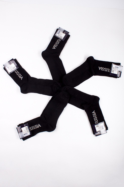 НоскиНоски<br>Трикотажные мужские носки. В наборе 5 пар.  В изделии использованы цвета: черный, белый<br><br>По сезону: Осень,Весна<br>Размер : 31-33<br>Материал: Трикотаж<br>Количество в наличии: 1
