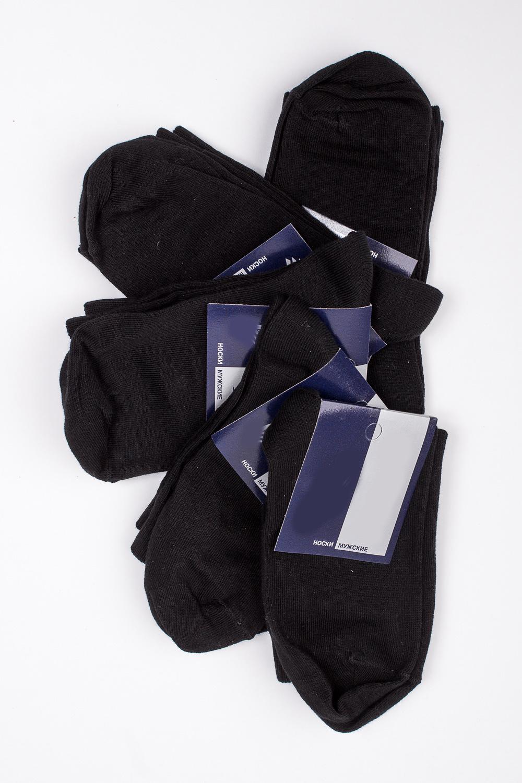 НоскиНоски<br>Хлопковые носки из мягкого трикотажа. В наборе 5 пар.  В изделии использованы цвета: черный и др.  Цена на сайте указана за 1 упаковку.<br><br>По сезону: Всесезон<br>Размер : 23-25,27-29<br>Материал: Трикотаж<br>Количество в наличии: 7
