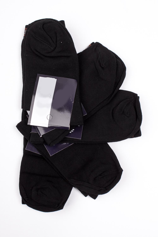 НоскиНоски<br>Хлопковые носки из мягкого трикотажа. В наборе 5 пар.  В изделии использованы цвета: черный, коричневый  Цена на сайте указана за 1 упаковку.<br><br>По сезону: Всесезон<br>Размер : 23-25,27-29,31-33<br>Материал: Трикотаж<br>Количество в наличии: 12