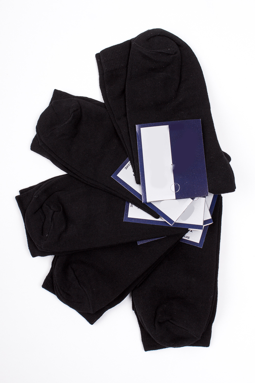 НоскиНоски<br>Хлопковые носки из мягкого трикотажа. В наборе 5 пар.  В изделии использованы цвета: черный, коричневый, белый  Цена на сайте указана за 1 упаковку.<br><br>По сезону: Всесезон<br>Размер : 23-25,27-29,31-33<br>Материал: Трикотаж<br>Количество в наличии: 11