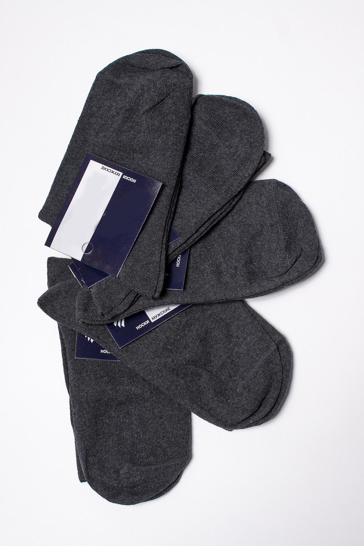 НоскиНоски<br>Хлопковые носки из мягкого трикотажа. В наборе 5 пар.  В изделии использованы цвета: серый, белый  Цена на сайте указана за 1 упаковку.<br><br>По сезону: Всесезон<br>Размер : 25,27<br>Материал: Трикотаж<br>Количество в наличии: 8