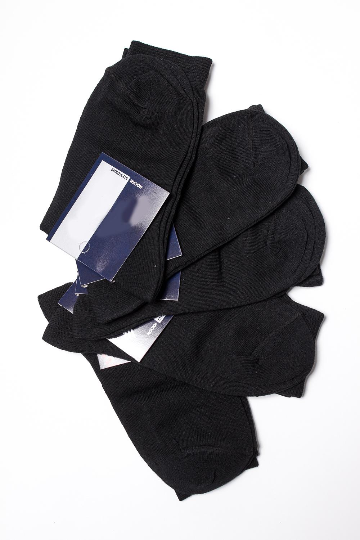 НоскиНоски<br>Хлопковые носки из мягкого трикотажа. В наборе 5 пар.  В изделии использованы цвета: черный  Цена на сайте указана за 1 упаковку.<br><br>По сезону: Всесезон<br>Размер : 25,27,29,31<br>Материал: Трикотаж<br>Количество в наличии: 11