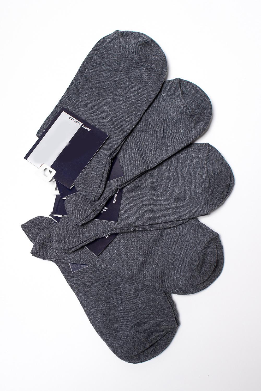 НоскиНоски<br>Хлопковые носки из мягкого трикотажа. В наборе 5 пар.  В изделии использованы цвета: серый  Цена на сайте указана за 1 упаковку.<br><br>По сезону: Всесезон<br>Размер : 25,31<br>Материал: Трикотаж<br>Количество в наличии: 6