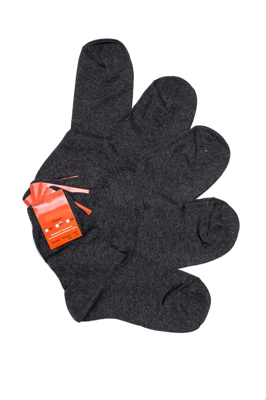 НоскиНоски<br>Однотонные носки из мягкого трикотажа. Носки отличаются хорошим качеством, прочностью, надежностью и удобством в пользовании. Оптимальный состав обеспечит комфорт и здоровье Ваших ног.  В наборе 5 пар.  В изделии использованы цвета: темно-серый  Цена на сайте указана за 1 упаковку.<br><br>По сезону: Всесезон<br>Размер : 25,27,29,31<br>Материал: Трикотаж<br>Количество в наличии: 7