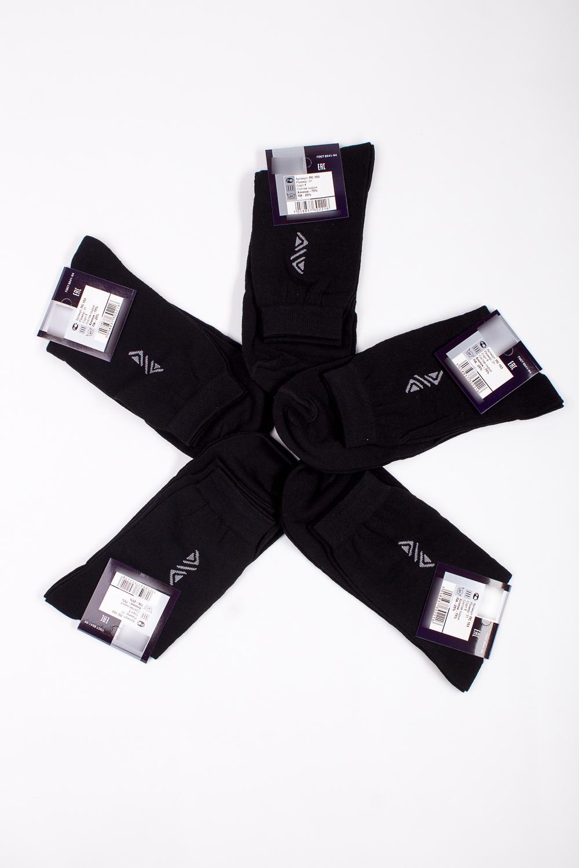 НоскиНоски<br>Трикотажные мужские носки. В наборе 5 пар.  В изделии использованы цвета: черный, белый  Цена на сайте указана за 1 упаковку.<br><br>По сезону: Осень,Весна<br>Размер : 25<br>Материал: Трикотаж<br>Количество в наличии: 2