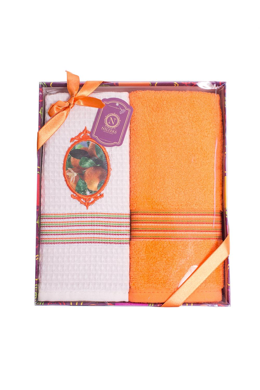 Набор полотенец сирень classik б 50х90 70х130 в коробке набор полотенец фиеста