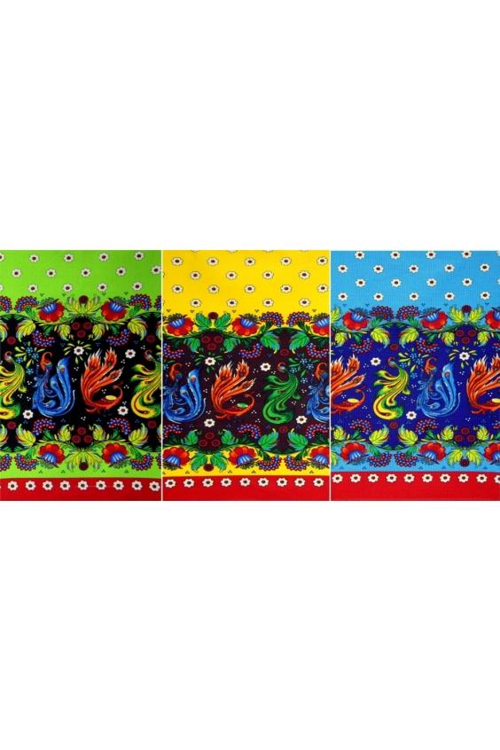 Набор полотенецПолотенца<br>Набор ярких кухонных полотенец  В наборе 3 полотенца 40*70 см  Цвет: мультицвет<br><br>Отделка края: Отделка строчкой<br>По материалу: Хлопковые<br>По рисунку: С набивным рисунком,С принтом (печатью),Цветные<br>Размер : 40*70<br>Материал: Хлопок<br>Количество в наличии: 1