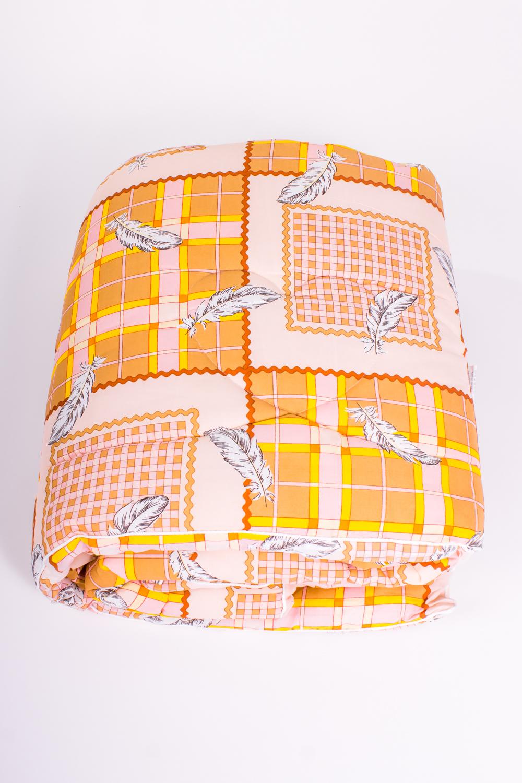 ОдеялоОдеяла и наматрасники<br>Материал силиконизированное волокно весьма оригинален не только снаружи, но и внутри: он состоит из бесконечного множества спиралевидных пружин. Именно благодаря этой особенности постельные принадлежности из силиконизированного волокна такие упругие, способны быстро восстанавливать форму после сжатия, имеют высокую устойчивость в ее сохранению с течение многих лет.  Более того, изделия из этого удивительного материала соответствуют требованиям:  - возможность многолетней эксплуатации; - абсолютное отсутствие токсичности и экологическая чистота; - не впитывает запахов и влаги; - не поддаются горению.  Цвет: желтый, белый, бежевый  Размеры:  Одеяло полутораспальное - 140х205 см. Одеяло двуспальное - 172х205 см. Одеяло Евро - 200х220 см.  Допускается расхождение в размере ± 2 см<br><br>По материалу: Синтетические ткани<br>По размеру: Евро<br>По рисунку: Абстракция,Цветные<br>Размер : Euro<br>Материал: Поликоттон<br>Количество в наличии: 3