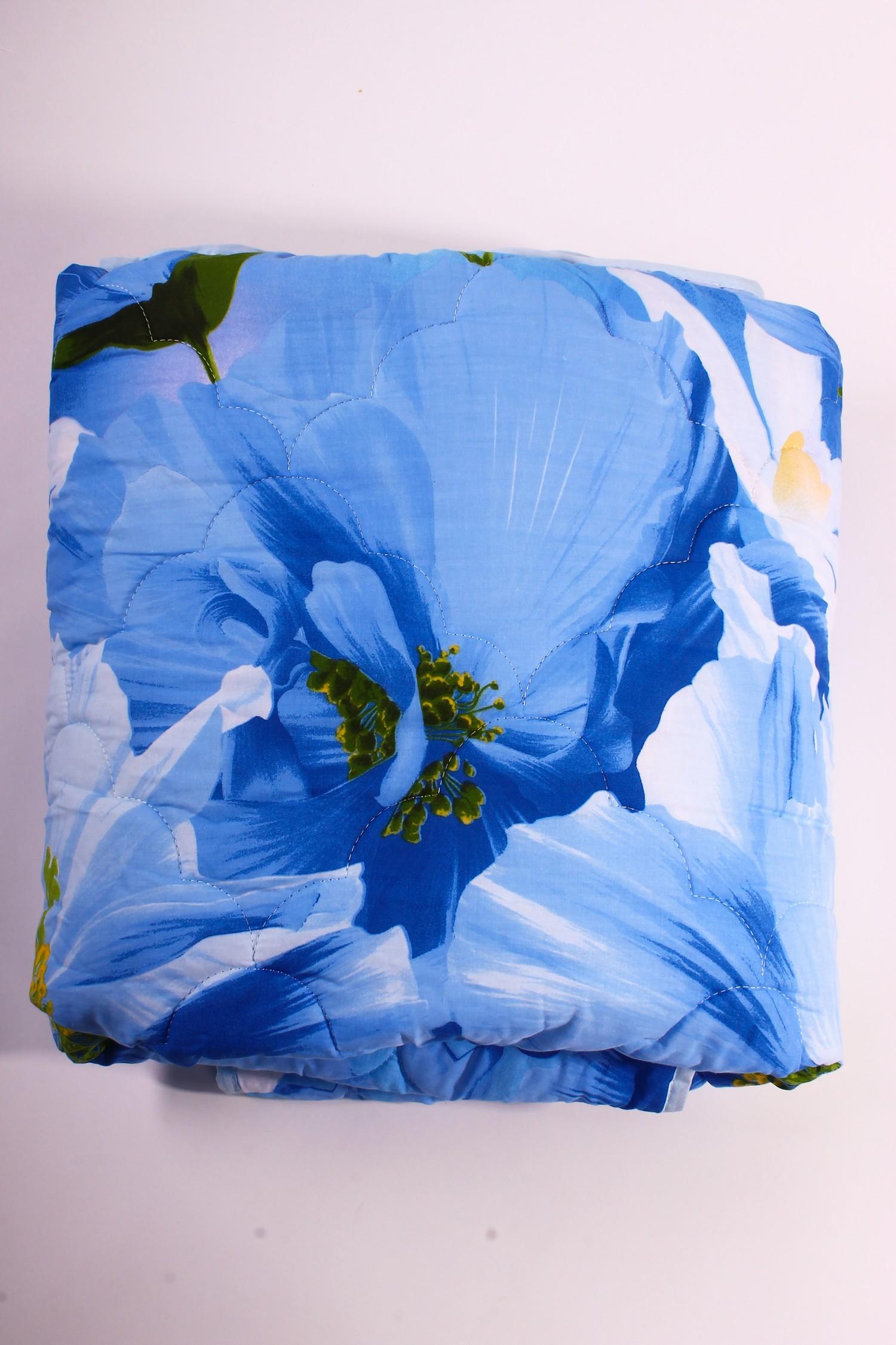 ОдеялоОдеяла и наматрасники<br>Бамбуковое волокно обладает хорошими вентиляционными свойствами, поэтому спать под такими одеялами одно удовольствие. Благодаря натуральным смолам, присутствующим в составе бамбукового наполнителя, вы будете избавлены от пыли и неприятного запаха, которые имеют свойство накапливаться в обычных одеялах.  Размеры:  Одеяло полутораспальное - 140х205 см. Одеяло двуспальное - 172х205 см. Одеяло Евро - 200х220 см.  Допускается расхождение в размере ± 2 см<br><br>По материалу: Бамбук<br>По размеру: Полутороспальные<br>По рисунку: Растительные мотивы,Цветные,Цветочные<br>Размер : 1,5<br>Материал: Поплин<br>Количество в наличии: 1