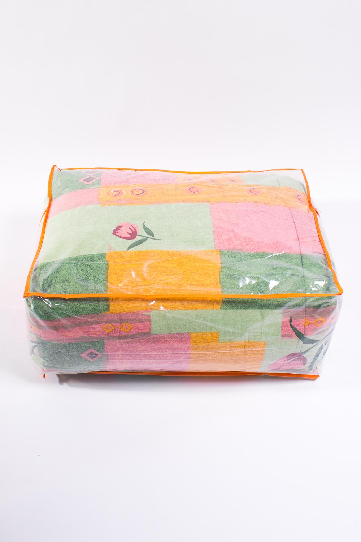 ОдеялоОдеяла и наматрасники<br>Овечья шерсть и изделия, наполнителем которых она является, такие как одеяла, подушки и наматрасники не только дарят непередаваемое ощущение комфорта и тепла, но и обладают рядом лечебных свойств.  Потребительские свойства изделий с наполнителем из овечьей шерсти: - лечебно-профилактический эффект - оптимальный температурный режим - гигроскопичность: обеспечивает комфортное сухое тепло - активная циркуляция воздуха через наполнитель  Расположение принта на изделии может незначительно отличаться от картинки.  Цвет: зеленый, желтый, оранжевый, розовый  Размеры:  Одеяло полутораспальное - 140х205 см. Одеяло двуспальное - 172х205 см. Одеяло Евро - 200х220 см.  Допускается расхождение в размере ± 2 см<br><br>По материалу: Синтетические ткани,Шерсть<br>По размеру: Евро<br>По рисунку: Растительные мотивы,Цветные,Цветочные<br>Размер : Euro<br>Материал: Поликоттон<br>Количество в наличии: 1