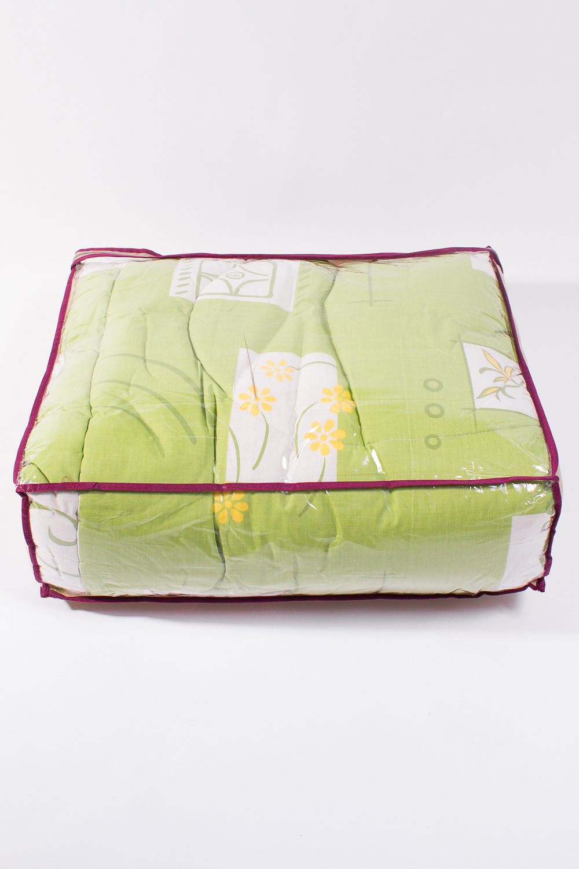 ОдеялоОдеяла и наматрасники<br>Овечья шерсть и изделия, наполнителем которых она является, такие как одеяла, подушки и наматрасники не только дарят непередаваемое ощущение комфорта и тепла, но и обладают рядом лечебных свойств.  Потребительские свойства изделий с наполнителем из овечьей шерсти: - лечебно-профилактический эффект - оптимальный температурный режим - гигроскопичность: обеспечивает комфортное quot;сухоеquot; тепло - активная циркуляция воздуха через наполнитель  Расположение принта на изделии может незначительно отличаться от картинки.  Цвет: зеленый, белый, желтый  Размеры:  Одеяло полутораспальное - 140х205 см. Одеяло двуспальное - 172х205 см. Одеяло Евро - 200х220 см.  Допускается расхождение в размере ± 2 см<br><br>По материалу: Синтетические ткани,Шерсть<br>По размеру: Евро<br>По рисунку: Растительные мотивы,Цветные,Цветочные<br>Размер : Euro<br>Материал: Поликоттон<br>Количество в наличии: 1
