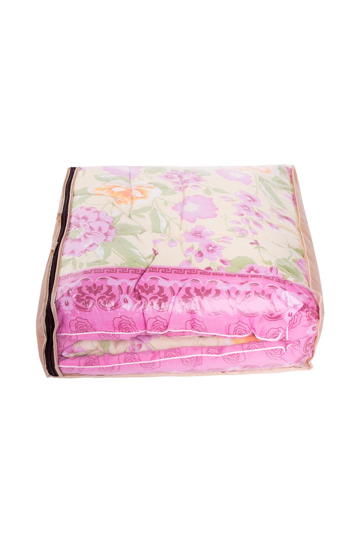 ОдеялоОдеяла и наматрасники<br>Овечья шерсть и изделия, наполнителем которых она является, такие как одеяла, подушки и наматрасники не только дарят непередаваемое ощущение комфорта и тепла, но и обладают рядом действительно лечебных свойств. Например, шерстяные одеяла стимулируют кровообращение, способствуют снятию боли в спине, суставах и мышцах. Люди пожилого возраста выбирают именно такие изделия, поскольку ланолин, содержащийся в овечьей шерсти, благотворным образом влияет на остеохондроз, ревматизм и артрит, препятствует увяданию кожи и преждевременному старению.  В изделии использованы цвета: желтый, розовый и др.  Размеры:  Одеяло полутораспальное - 140х205 см. Одеяло двуспальное - 172х205 см. Одеяло Евро - 200х220 см.  Допускается расхождение в размере ± 2 см<br><br>По размеру: Евро<br>По рисунку: Растительные мотивы,С принтом,Цветные,Цветочные<br>Размер : Euro<br>Материал: Поликоттон<br>Количество в наличии: 1
