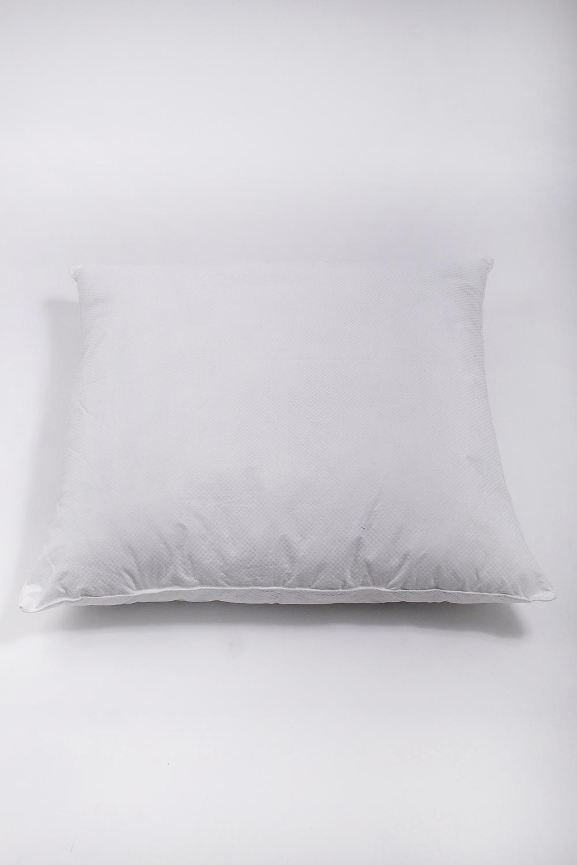 ПодушкаПодушки<br>Наполнитель - силиконизированное волокно  Материал - Хлопок  Цвет: белый<br><br>По материалу: Синтетические ткани,Хлопок<br>По рисунку: Однотонные<br>Размер : 70*70<br>Материал: Хлопок<br>Количество в наличии: 1