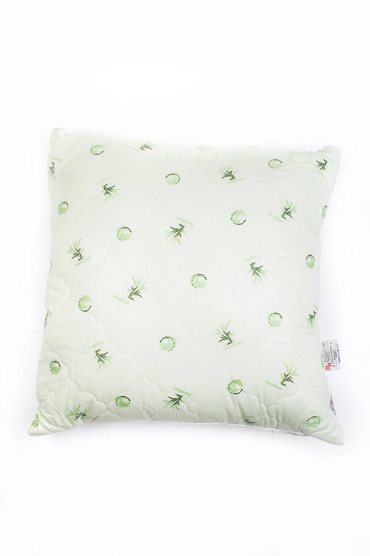 ПодушкаПодушки<br>Чудесная подушка для Вашего дома.  Чехол подушки на молнии,стеганый бамбуковым волокном.Бамбук известен своими охлаждающим, дезодорирующим и антибактериальным свойствами, имеет уникальный лечебный и расслабляющий эффект, который помогает обрести крепкий и здоровый сон.Внутренняя подушка:высокосиликонизированное микроволокно (лебяжий пух).Лебяжий пух - химически инертный, сверхтонкий материал, не впитывающий посторонние запахи. Искусственная природа волокна препятсвует гниению и появлению клещей, и как нельзя лучше подходит людям, склонных к аллергическим реакциям.  Размер: 70*70 см<br><br>По материалу: Бамбук,Хлопок<br>Размер : 70*70<br>Материал: Хлопок<br>Количество в наличии: 1