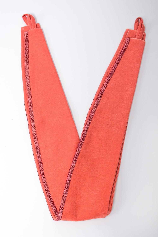 Подхват для шторАксессуары для штор<br>Яркий подхват для штор. В комплекте 2 шт.  Цвет: оранжевый<br><br>По материалу: Тканевые<br>По рисунку: Однотонные<br>Размер : UNI<br>Материал: Портьерные ткани<br>Количество в наличии: 1