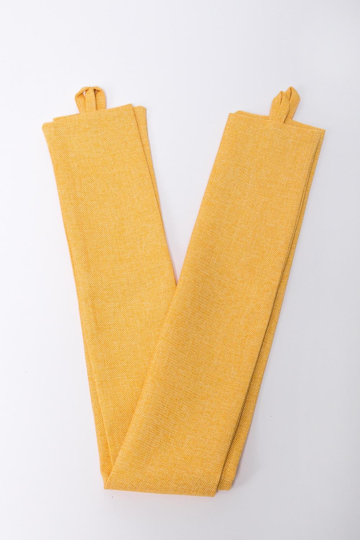Подхват для шторАксессуары для штор<br>Яркий подхват для штор. В комплекте 2 шт.  Цвет: желтый<br><br>По материалу: Тканевые<br>По рисунку: Однотонные<br>Размер : UNI<br>Материал: Портьерные ткани<br>Количество в наличии: 2