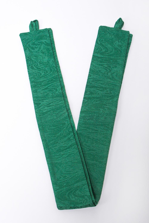 Подхват для шторАксессуары для штор<br>Яркий подхват для штор. В комплекте 2 шт.  Цвет: зеленый<br><br>По материалу: Тканевые<br>По рисунку: Однотонные<br>Размер : UNI<br>Материал: Портьерные ткани<br>Количество в наличии: 1