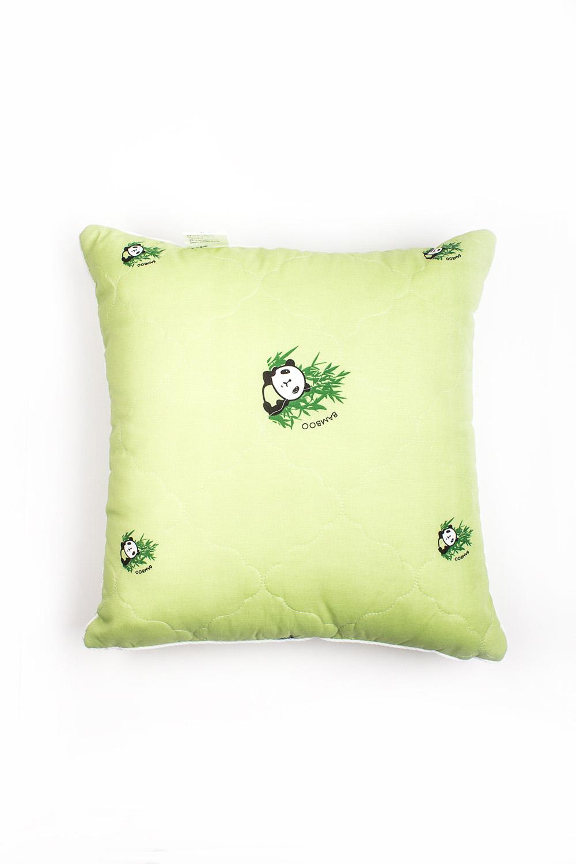 ПодушкаПодушки<br>Чудесная подушка для Вашего дома.  Бамбук известен своими охлаждающим, дезодорирующим и антибактериальным свойствами, имеет уникальный лечебный и расслабляющий эффект, который помогает обрести крепкий и здоровый сон.Внутренняя подушка:высокосиликонизированное микроволокно (лебяжий пух).Лебяжий пух - химически инертный, сверхтонкий материал, не впитывающий посторонние запахи. Искусственная природа волокна препятсвует гниению и появлению клещей, и как нельзя лучше подходит людям, склонных к аллергическим реакциям.  Размер: 50*50 см<br><br>По материалу: Хлопок,Пух<br>По рисунку: Однотонные<br>Размер : 50*50<br>Материал: Хлопок<br>Количество в наличии: 1