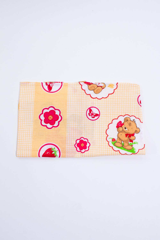 ПолотенцеПолотенца<br>Хлопковое полотенце с ярким принтом для кухни  Цвет: бежевый, розовый, белый<br><br>По материалу: Хлопковые<br>По рисунку: С набивным рисунком,С принтом (печатью),Цветные<br>Отделка края: Отделка строчкой<br>Размер: 40*70<br>Материал: 100% хлопок<br>Количество в наличии: 1