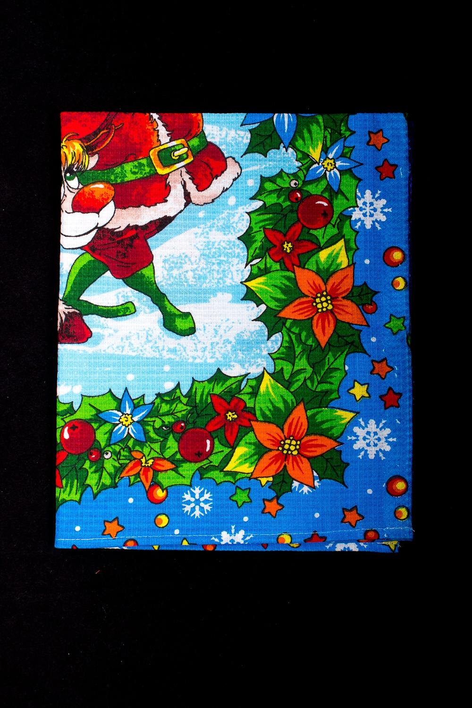 ПолотенцеПолотенца<br>Яркое хлопковое полотенце на кухню  В изделии использованы цвета: голубой и др.<br><br>По рисунку: С набивным рисунком,С принтом (печатью),Цветные<br>Размер : 45*60<br>Материал: Хлопок<br>Количество в наличии: 9