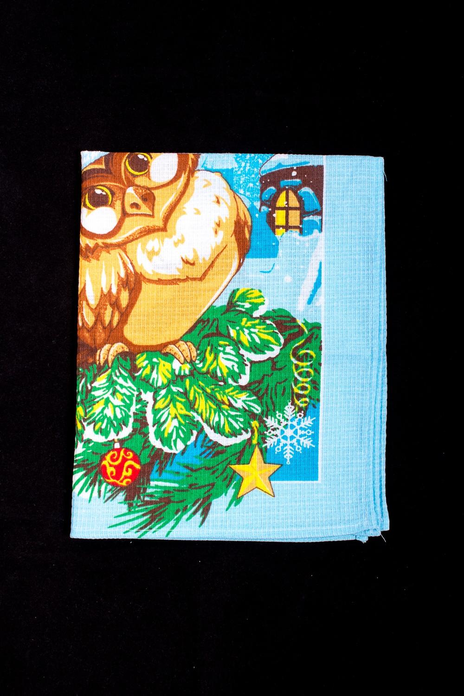 ПолотенцеПолотенца<br>Яркое хлопковое полотенце на кухню  В изделии использованы цвета: голубой и др.<br><br>По рисунку: С набивным рисунком,С принтом (печатью),Цветные<br>Размер : 45*60<br>Материал: Хлопок<br>Количество в наличии: 6
