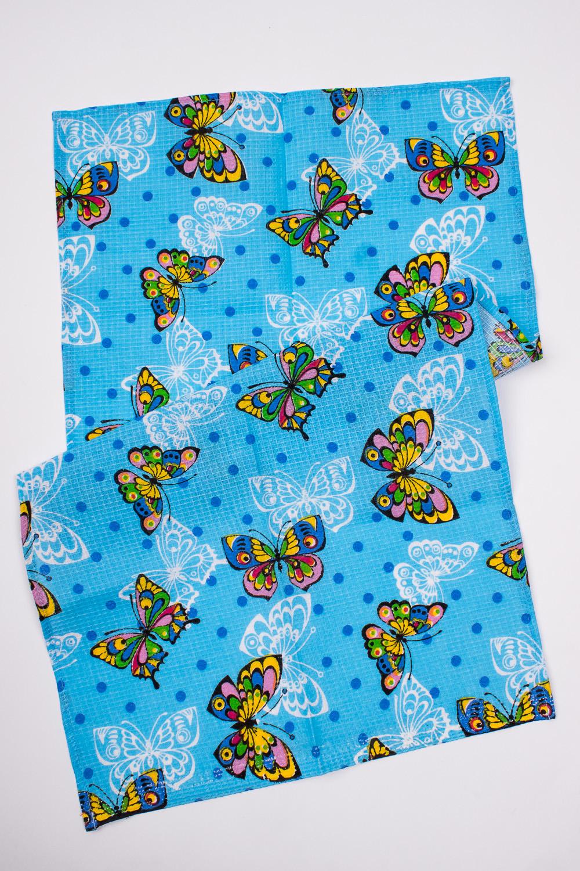 ПолотенцеПолотенца<br>Яркое хлопковое полотенце.  В изделии использованы цвета: голубой и др.<br><br>По материалу: Вафельные,Хлопок<br>По рисунку: Бабочки,В горошек,Цветные,С принтом<br>Размер : 38*72<br>Материал: Хлопок<br>Количество в наличии: 4