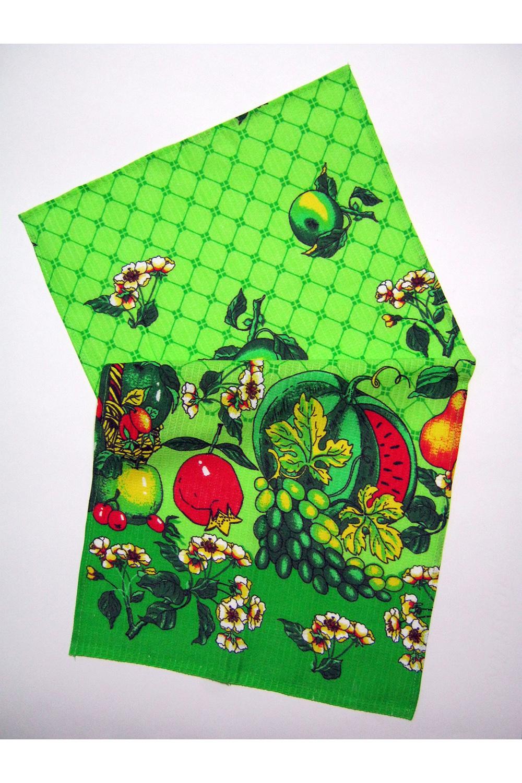 ПолотенцеПолотенца<br>Яркое хлопковое полотенце.  В изделии использованы цвета: зеленый и др.<br><br>По рисунку: Растительные мотивы,Цветные,С принтом<br>По материалу: Хлопок<br>Размер : 38*72<br>Материал: Хлопок<br>Количество в наличии: 21
