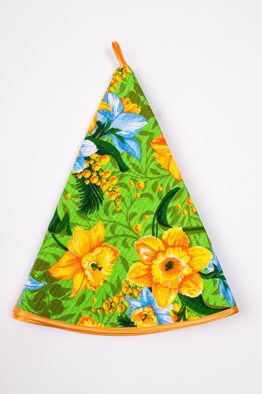 ПолотенцеПолотенца<br>Яркое хлопковое полотенце с петелькой.  В изделии использованы цвета: зеленый, желтый и др.<br><br>По материалу: Вафельные,Хлопок<br>По рисунку: Растительные мотивы,Цветные,Цветочные,С принтом<br>Размер : 64*64<br>Материал: Хлопок<br>Количество в наличии: 2