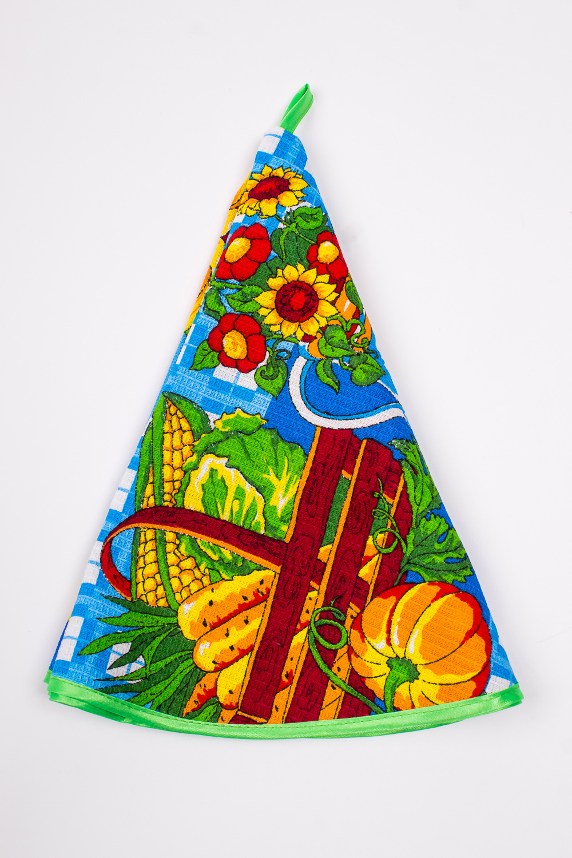 ПолотенцеПолотенца<br>Яркое хлопковое полотенце с петелькой.  В изделии использованы цвета: голубой и др.<br><br>По материалу: Вафельные,Хлопок<br>По рисунку: Растительные мотивы,Цветные,Цветочные,С принтом<br>Размер : 64*64<br>Материал: Хлопок<br>Количество в наличии: 2