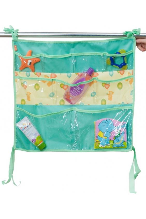 Подвесные карманыБортики и матрасы<br>Подвесные карманы на кроватку или в ванную комнату для игрушек.<br><br>Размер : UNI<br>Материал: ПВХ<br>Количество в наличии: 1