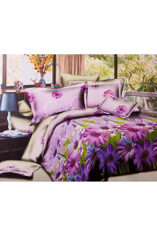 ПокрывалоПокрывала<br>Покрывало на кровать – эта деталь интерьера, которая делает кровать нарядной в течение дня и хранит её для ночи. Оно защищает постельное бельё от износа и загрязнения, сохраняет его свежесть и позволяет Вам каждую ночь ложиться в чистую кровать. Современная мода отводит покрывалам центральное место в спальне и гостиной и советует использовать его не только для того, чтобы защитить мебельную обивку от пыли и пятен. Оригинальная и стильная постельная накидка может не только спрятать белье от посторонних глаз, но и стать элементом декора помещения.В изделии использованы цвета: розовый, зеленый и др.Параметры размеров: 1,5 сп. - 150*210 см2,0 сп. - 180*210 см.Евро - 200*210 см.<br><br>Материал: Синтетические ткани<br>Размер: Полутороспальные,Евро<br>Рисунок: 3D,Растительные мотивы,С принтом,Цветные,Цветочные<br>Элементы: Стеганное<br>Размер : 1,5,Euro<br>Материал: Полисатин<br>Количество в наличии: 3