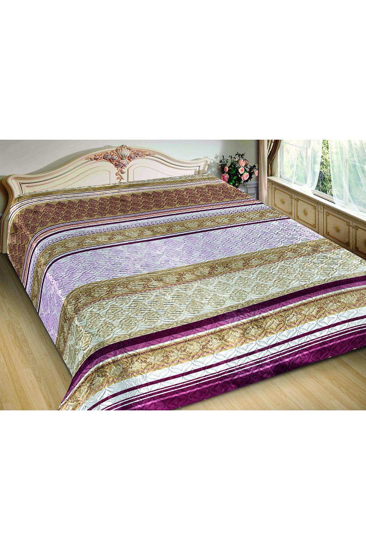 ПокрывалоПокрывала<br>Покрывало на кровать – эта деталь интерьера, которая делает кровать нарядной в течение дня и хранит её для ночи. Оно защищает постельное бельё от износа и загрязнения, сохраняет его свежесть и позволяет Вам каждую ночь ложиться в чистую кровать. Современная мода отводит покрывалам центральное место в спальне и гостиной и советует использовать его не только для того, чтобы защитить мебельную обивку от пыли и пятен. Оригинальная и стильная постельная накидка может не только спрятать белье от посторонних глаз, но и стать элементом декора помещения.  В изделии использованы цвета: бежевый, розовый, бордовый<br><br>По материалу: Шелк<br>По размеру: Полутороспальные,Двуспальные,Евро<br>По рисунку: В полоску,Цветные<br>По элементам: С термостежкой<br>Размер : 150*220,180*220,200*220<br>Материал: Искусственный шелк<br>Количество в наличии: 16