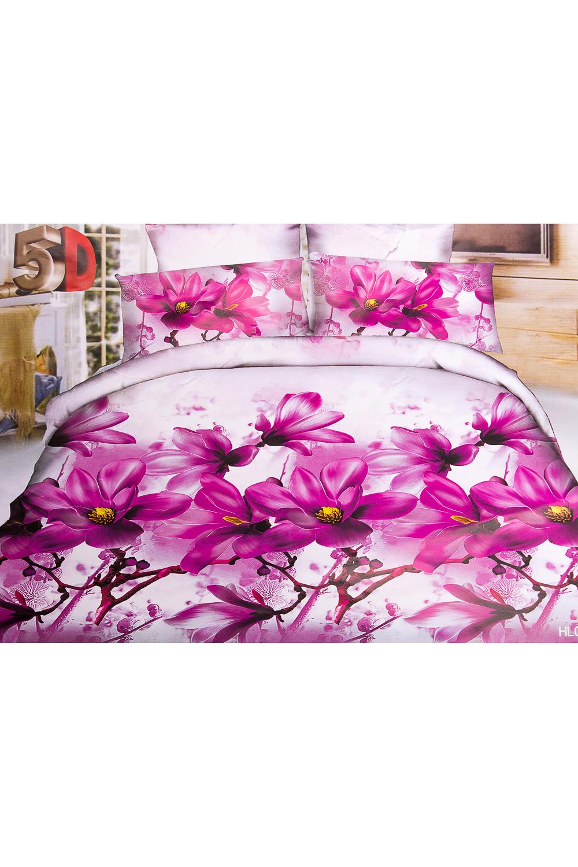 ПокрывалоПокрывала<br>Покрывало на кровать – эта деталь интерьера, которая делает кровать нарядной в течение дня и хранит её для ночи. Оно защищает постельное бельё от износа и загрязнения, сохраняет его свежесть и позволяет Вам каждую ночь ложиться в чистую кровать. Современная мода отводит покрывалам центральное место в спальне и гостиной и советует использовать его не только для того, чтобы защитить мебельную обивку от пыли и пятен. Оригинальная и стильная постельная накидка может не только спрятать белье от посторонних глаз, но и стать элементом декора помещения.В изделии использованы цвета: белый, розовый и др.Параметры размеров: 1,5 сп. - 150*210 см2,0 сп. - 180*210 см.Евро - 200*210 см.<br><br>Материал: Синтетические ткани<br>Рисунок: 3D,Растительные мотивы,С принтом,Цветные,Цветочные<br>Элементы: Стеганное<br>Размер: Евро<br>Размер : Euro<br>Материал: Полисатин<br>Количество в наличии: 1