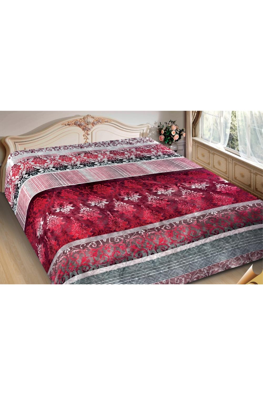 ПокрывалоПокрывала<br>Покрывало на кровать – эта деталь интерьера, которая делает кровать нарядной в течение дня и хранит её для ночи. Оно защищает постельное бельё от износа и загрязнения, сохраняет его свежесть и позволяет Вам каждую ночь ложиться в чистую кровать. Современная мода отводит покрывалам центральное место в спальне и гостиной и советует использовать его не только для того, чтобы защитить мебельную обивку от пыли и пятен. Оригинальная и стильная постельная накидка может не только спрятать белье от посторонних глаз, но и стать элементом декора помещения.  В изделии использованы цвета: красный, белый, серый<br><br>Отделка края: Отделка строчкой<br>По материалу: Полиэстер,Шелк<br>По размеру: Полутороспальные,Двуспальные,Евро,ЕвроМакси<br>По рисунку: С принтом (печатью),Цветные,Этнические<br>По сезону: Всесезон<br>Размер : 150*220,200*220,220*240<br>Материал: Искусственный шелк<br>Количество в наличии: 6