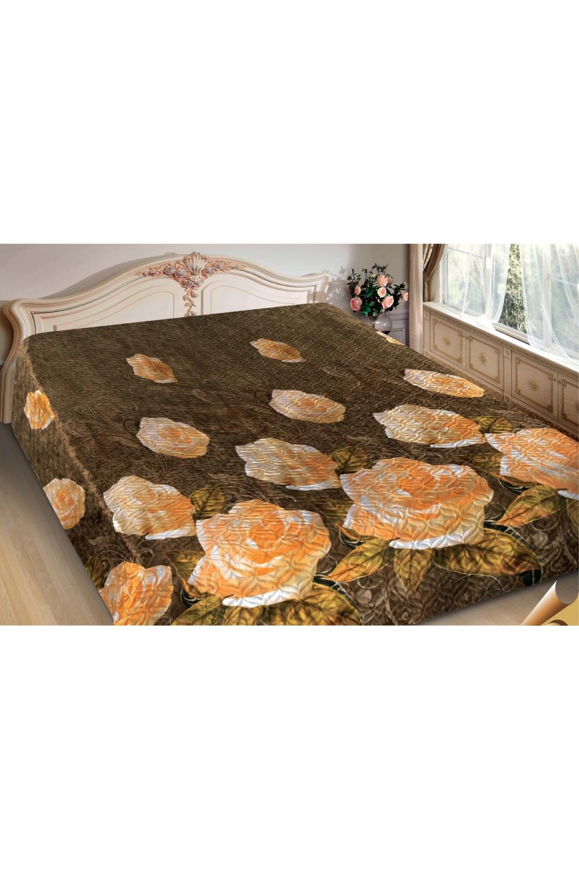 ПокрывалоПокрывала<br>Покрывало на кровать – эта деталь интерьера, которая делает кровать нарядной в течение дня и хранит её для ночи. Оно защищает постельное бельё от износа и загрязнения, сохраняет его свежесть и позволяет Вам каждую ночь ложиться в чистую кровать. Современная мода отводит покрывалам центральное место в спальне и гостиной и советует использовать его не только для того, чтобы защитить мебельную обивку от пыли и пятен. Оригинальная и стильная постельная накидка может не только спрятать белье от посторонних глаз, но и стать элементом декора помещения.  В изделии использованы цвета: зеленый, желтый, белый<br><br>Отделка края: Отделка строчкой<br>По материалу: Полиэстер,Шелк<br>По размеру: Полутороспальные,Двуспальные,Евро,ЕвроМакси<br>По рисунку: С принтом (печатью),Цветные,Цветочные<br>По сезону: Всесезон<br>Размер : 180*220<br>Материал: Искусственный шелк<br>Количество в наличии: 2