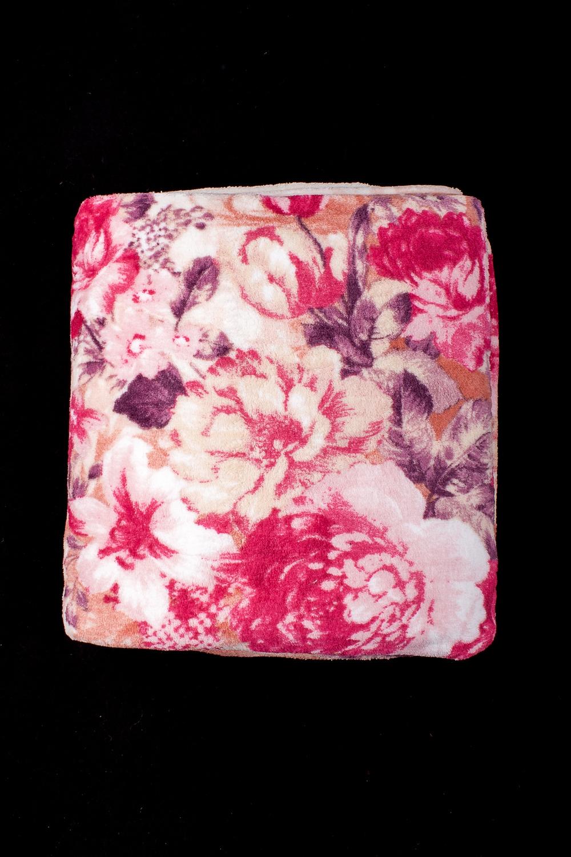 ПледПледы<br>Лёгкий нарядный плед, универсальное текстильное изделие, согревает в сырую погоду дома или в поездке, в туристическом походе, гостинице, косметическом салоне. А так же украшает интерьер.  В изделии использованы цвета: розовый, бежевый и др.<br><br>По материалу: Тканевые<br>По рисунку: С принтом (печатью),Цветные,Цветочные<br>По сезону: Всесезон<br>Размер : 150*200<br>Материал: Микрофибра<br>Количество в наличии: 1