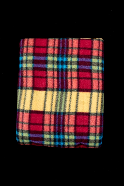 ПледПледы<br>Лёгкий нарядный плед, универсальное текстильное изделие, согревает в сырую погоду дома или в поездке, в туристическом походе, гостинице, косметическом салоне. А так же украшает интерьер.  В изделии использованы цвета: мультицвет<br><br>По материалу: Флис<br>По рисунку: В полоску,С принтом (печатью),Цветные<br>По сезону: Всесезон<br>Размер : 150*200,180*200<br>Материал: Флис<br>Количество в наличии: 3